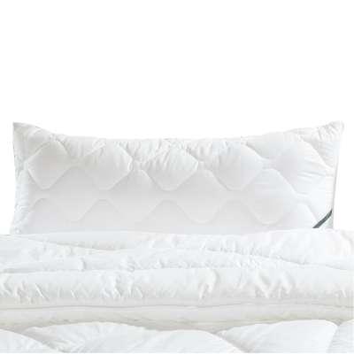 f.a.n. Frankenstolz Frankenstolz Kopfkissen Premium soft Kissen gesteppt 40x80 cm