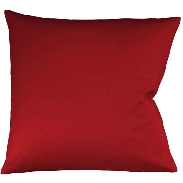 Fleuresse Interlock-Jersey-Kissenbezug uni colours bordeaux 4580 Größe 80x80 cm