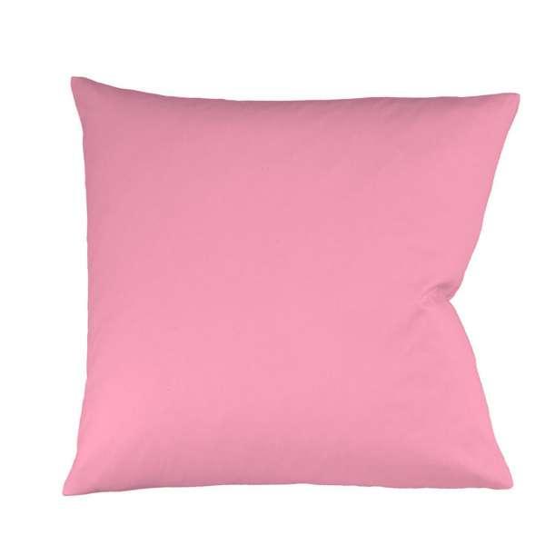 Fleuresse Mako-Satin-Kissenbezug uni colours 4070 pink, 50x50