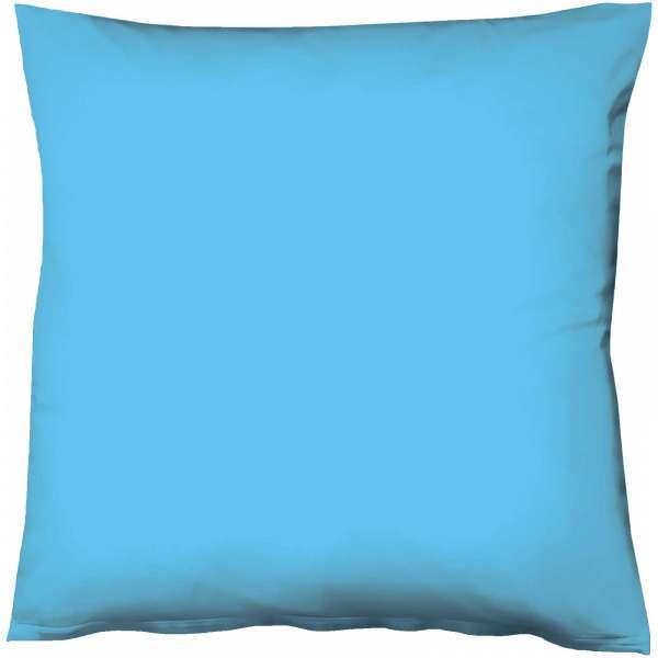 Fleuresse Mako-Satin-Kissenbezug uni colours meeresblau 6072, Größe 40x40 cm
