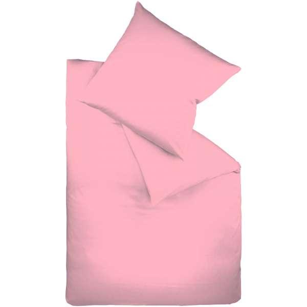Fleuresse Mako-Satin-Bettwäsche colours pink 4070
