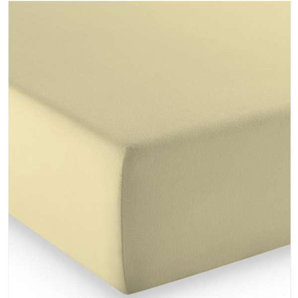 Fleuresse Mako-Jersey-Spannlaken comfort Farbe beige 2043