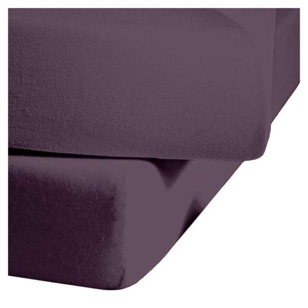 Fleuresse Mako-Satin-Spannlaken colours lavendel 6062