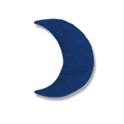 Theraline Kirschkernkissen, Wärmekissen, Kühlkissen Mond klein ca. 23 x 10 cm 000216830000