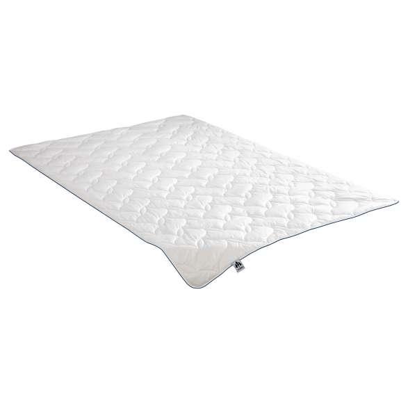 IRISETTE Steppbett Baumwolle leicht, Sommerdecke, Größe 155x220 cm