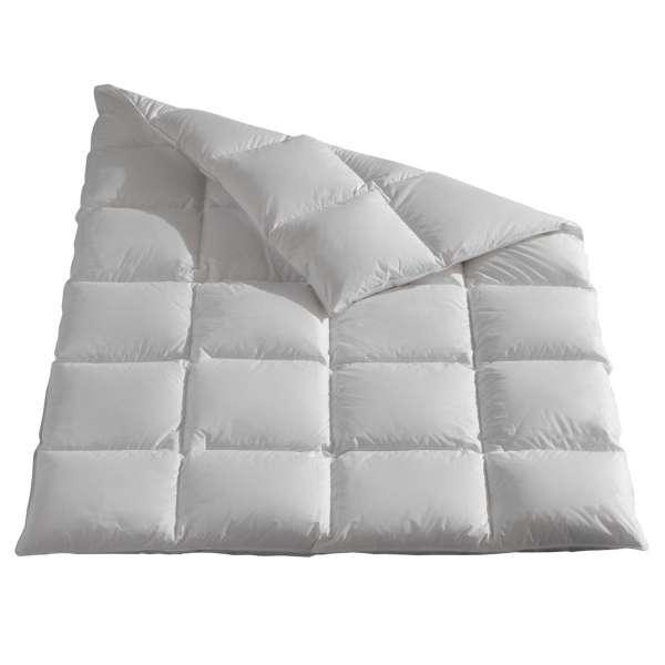 Häussling Luxus Gänsedaunen Kassettenbett Grönland warm 135x200 cm Winterdecke