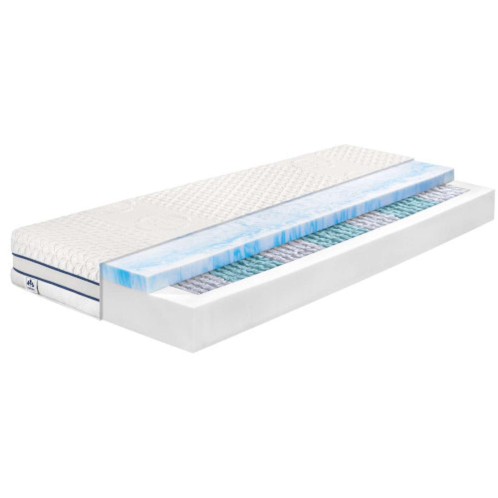 irisette tonnentaschenfederkern matratze mit gel active. Black Bedroom Furniture Sets. Home Design Ideas