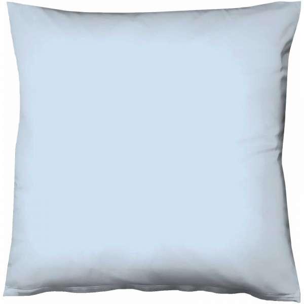 Fleuresse Mako-Satin-Kissenbezug uni colours 6056 bleu Größe 40x40 cm