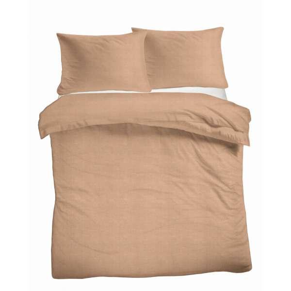 Kayori Baumwoll Bettwäsche Sari Größe 135x200 cm Farbe silbergrau