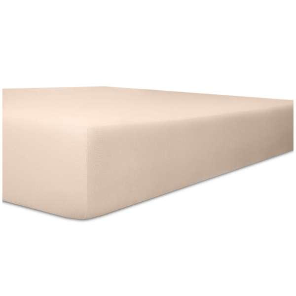 Kneer Vario-Stretch Spannbetttuch one für Topper 4-12 cm Höhe Qualität 22 Farbe zartrose
