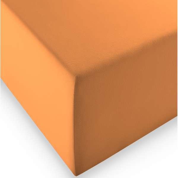 Fleuresse Boxspring- und Wasserbetten Jersey-Spannlaken comfort XL Farbe 2044 orange
