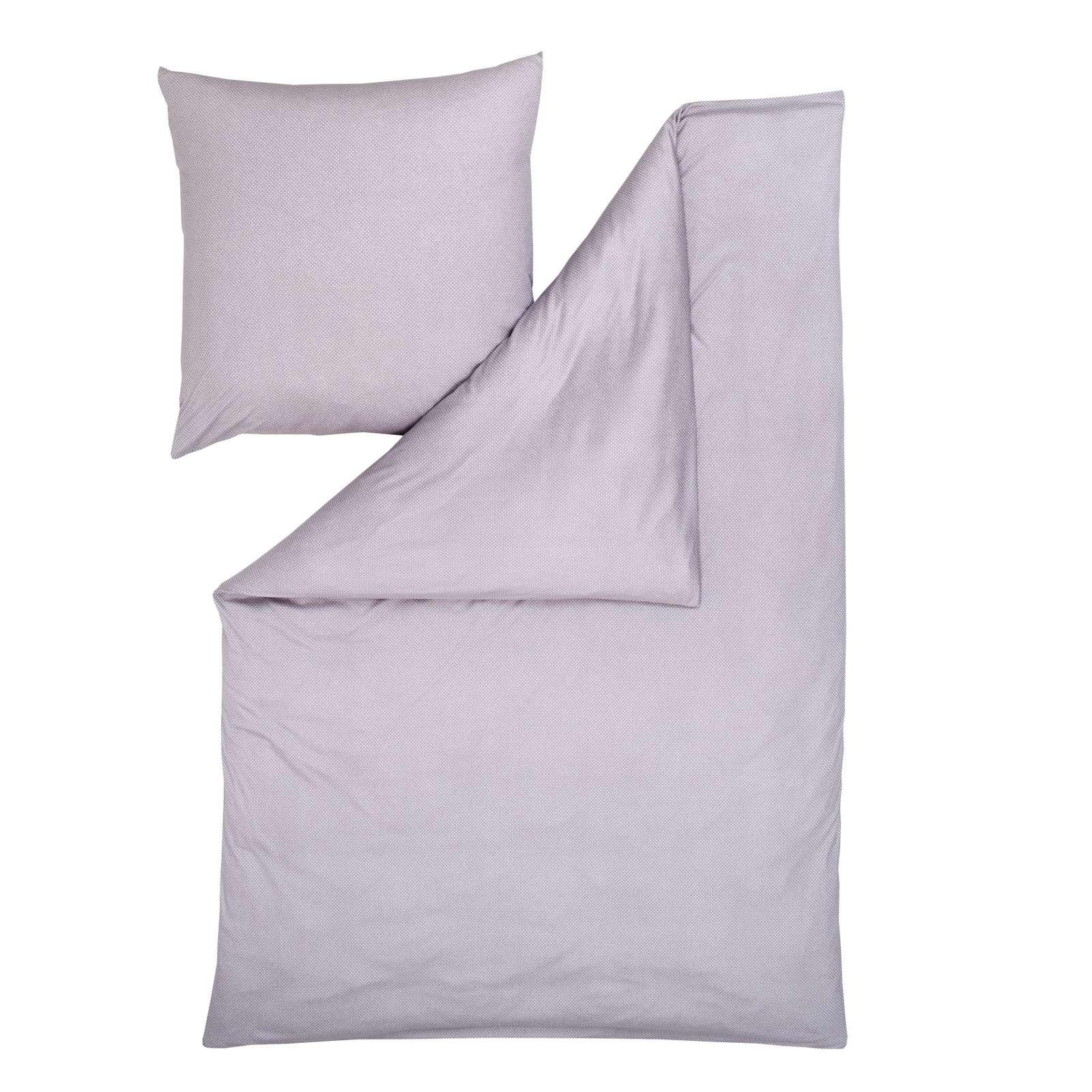 Estella Mako Interlock Jersey Bettwäsche Tamar 135x200 Cm Lavendel