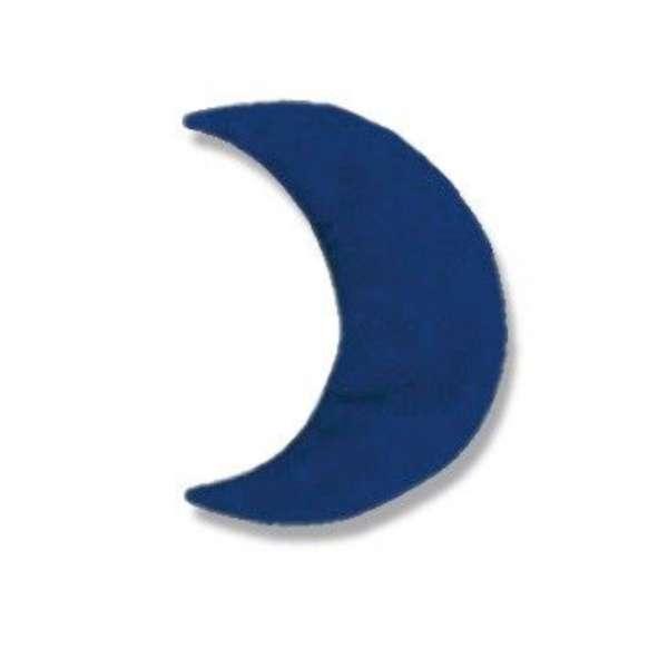 Theraline Kirschkernkissen, Wärmekissen, Kühlkissen Mond klein ca. 23 x 10 cm