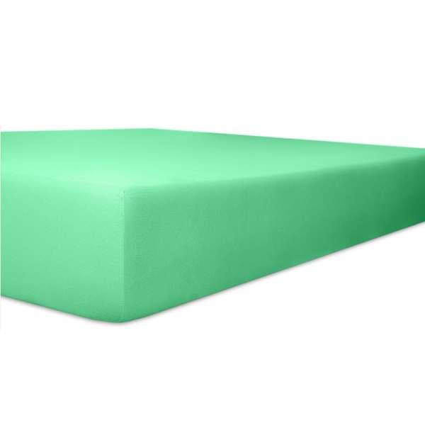 Kneer Vario Stretch Spannbetttuch Qualität 22 für Topper one lagune 220x220 cm