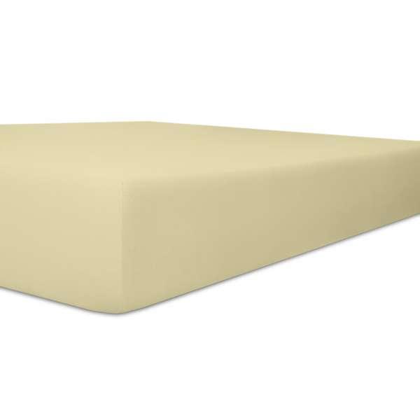 Kneer Vario Stretch Spannbetttuch Qualität 22 für Topper one natur 90x200 cm