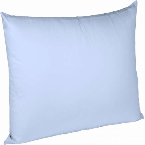 Fleuresse Interlock-Jersey-Kissenbezug uni colours 6056 bleu Größe 80x80 cm