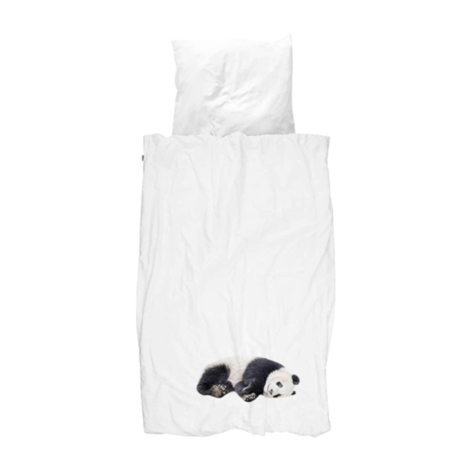 Snurk Bettwäsche Lazy Panda, Größe 135x200 cm