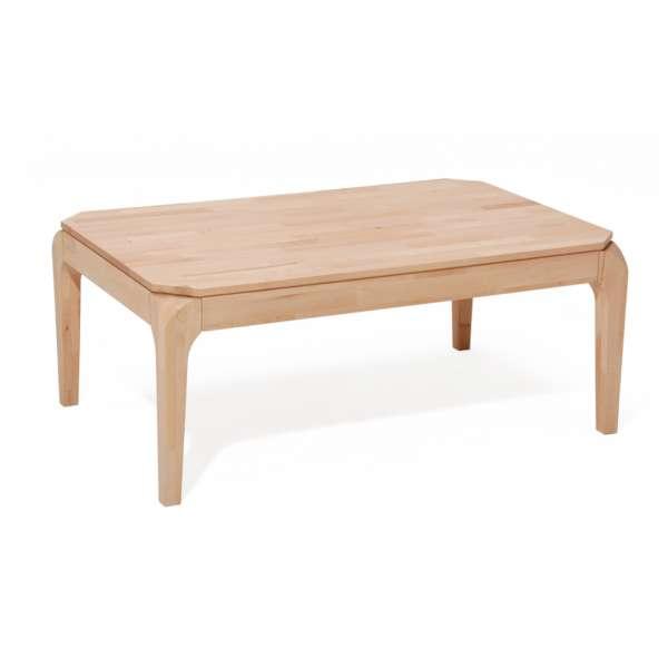 DICO Möbel Couchtisch CT 024 Massivholz Wildeiche Größe 110x70 cm