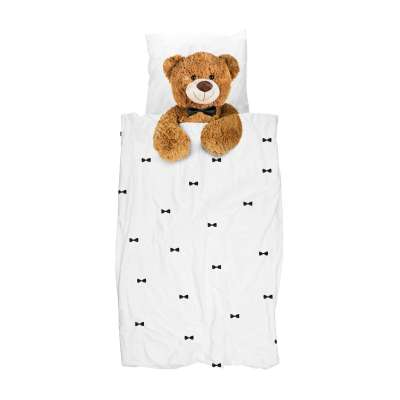 Snurk Bettwäsche Teddy 135x200/80x80 cm