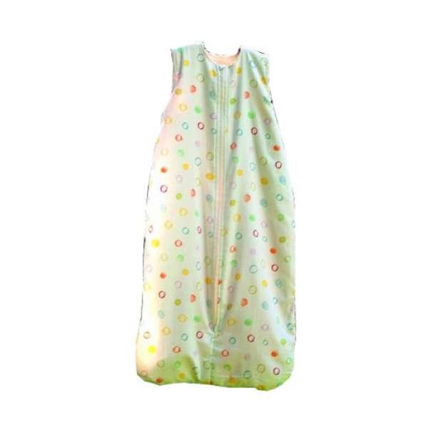 Cotonea Baby- und Kinder Flanell-Schlafsack Größe 130 Kritzelkreise