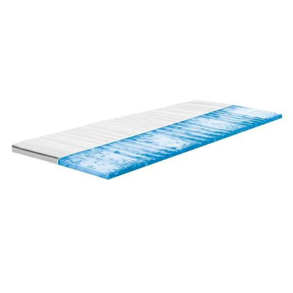 Frankenstolz Relax Gelart Matratzentopper Größe 120x200 cm, Kernhöhe ca. 4 cm