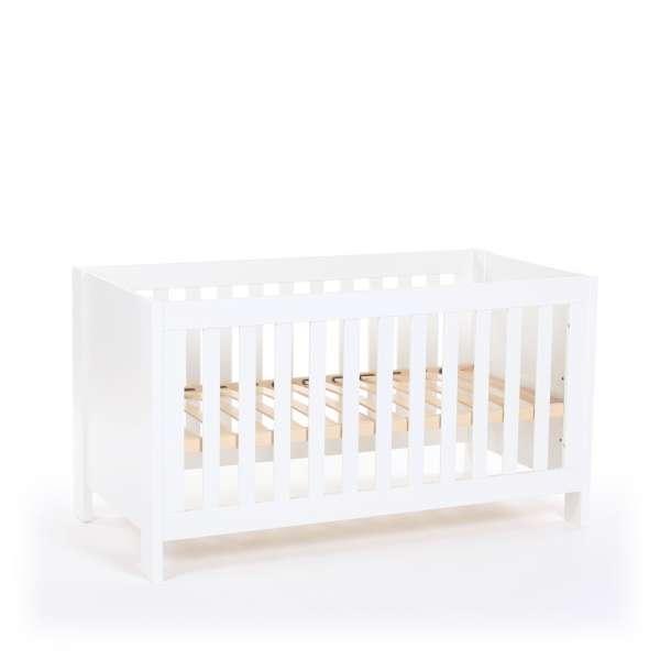 babybay Kinder -und Beistellbett All in One 140x70, weiß lackiert