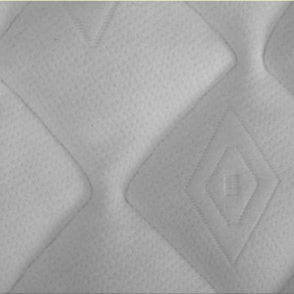 Abbco Wasserbettauflage Frottee für Softside Wasserbett teilbar, Größe 200x180 cm