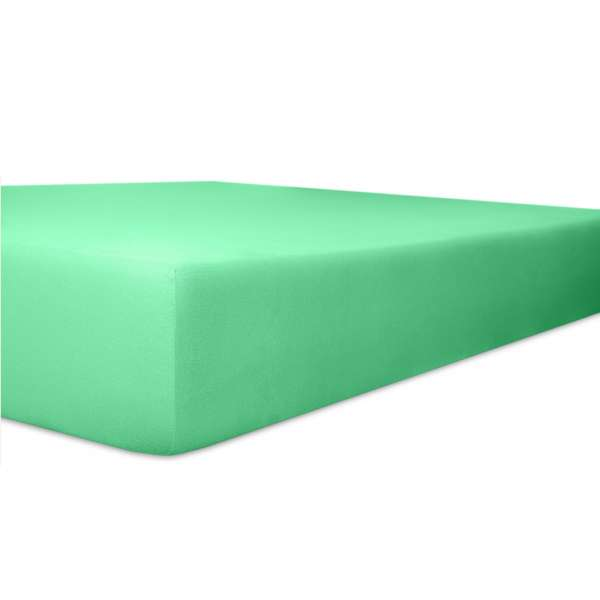 Kneer Vario Stretch Spannbetttuch Qualität 22 für Topper one lagune 120x200 cm