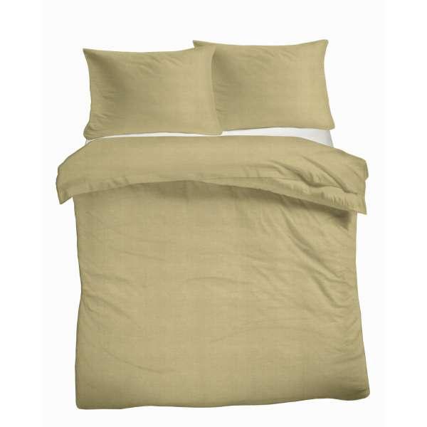 Kayori Baumwoll Bettwäsche Sari Größe 155x220 cm Farbe grün