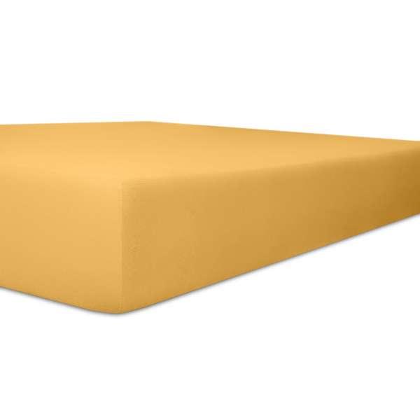 Kneer Vario Stretch Spannbetttuch Qualität 22 für Topper one sand 120x200 cm