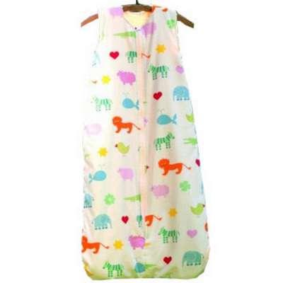 Cotonea Baby- und Kinder Teddyplüsch-Schlafsack Größe 130 Arche Noah