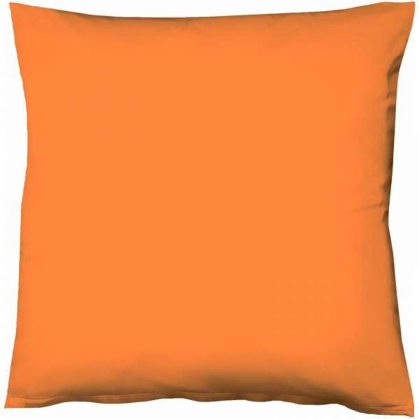 Fleuresse Mako-Satin-Kissenbezug uni colours Farbe orange 2044