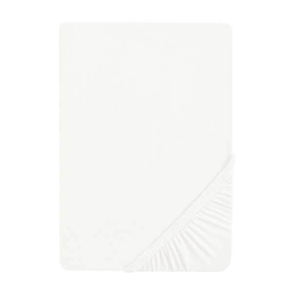 biberna Sleep & Protect Spannbettlaken (wasserundurchlässig) Molton Größe 160x200 cm, weiß