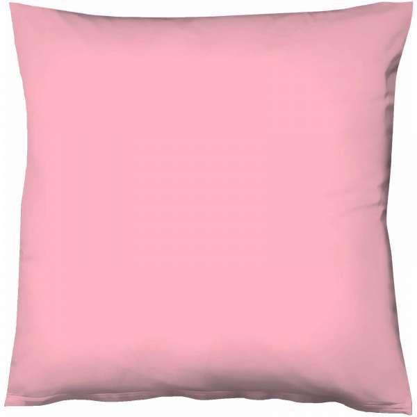 Fleuresse Mako-Satin-Kissenbezug uni colours pink 4070