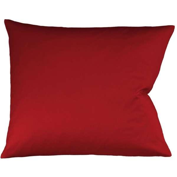 Fleuresse Interlock-Jersey-Kissenbezug uni colours 4580 bordeaux Größe 35x40 cm
