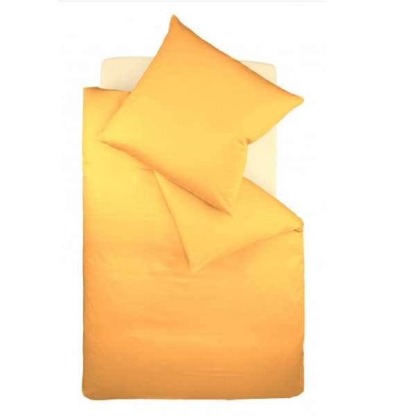 Fleuresse Interlock-Jersey-Bettwäsche colours sonne 2349 Größe 135 x 200 cm