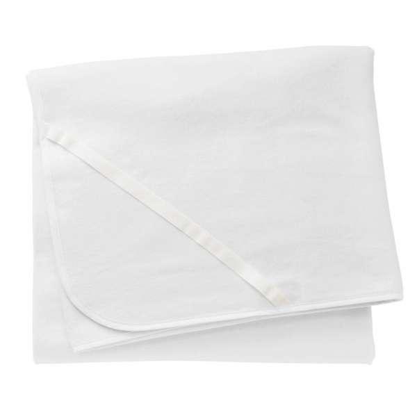 Cotonea Bio-Baumwolle Mola Molton Matratzenschutzauflage Größe 60x120 cm weiß