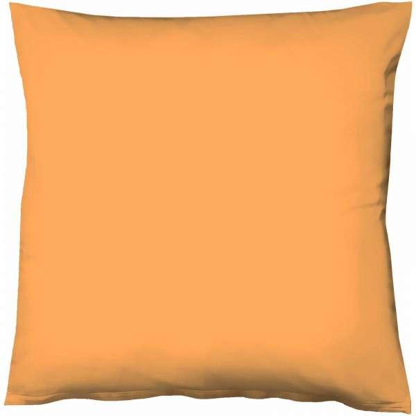Fleuresse Mako-Satin-Kissenbezug uni colours Farbe gold 2046