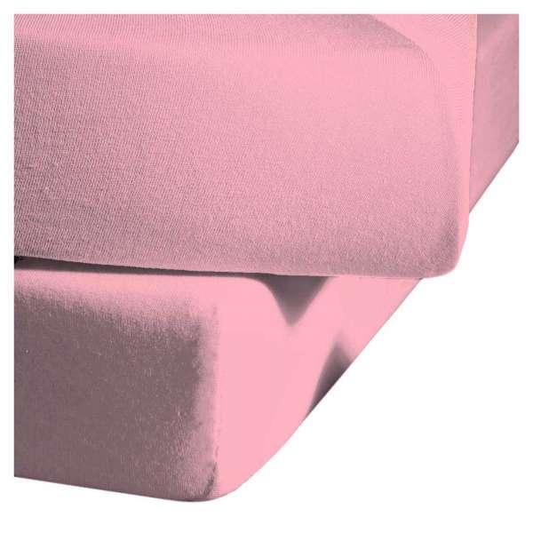 Fleuresse Mako-Satin-Spannlaken colours pink 4070