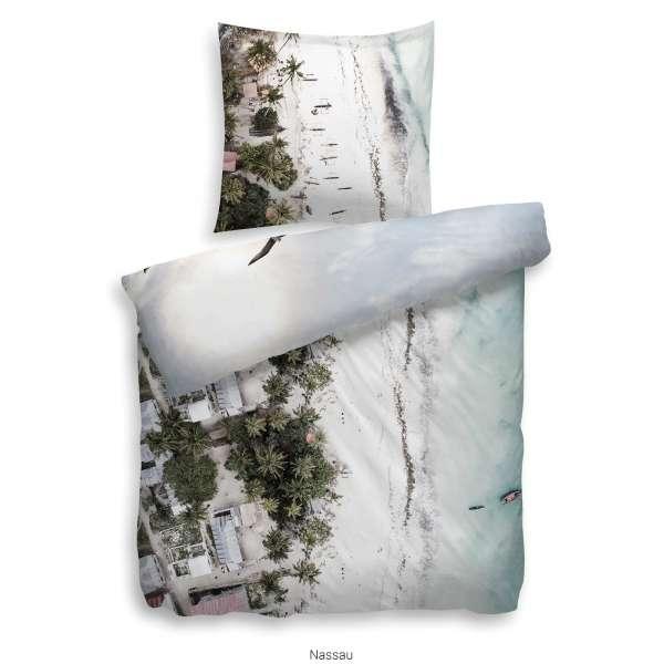 Heckett Lane Refined Satin Bettwäsche Nassau 135x200 cm multi