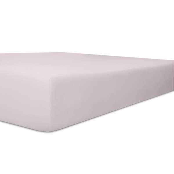 Kneer Vario Stretch Spannbetttuch Qualität 22 für Topper one lavendel 200x200 cm
