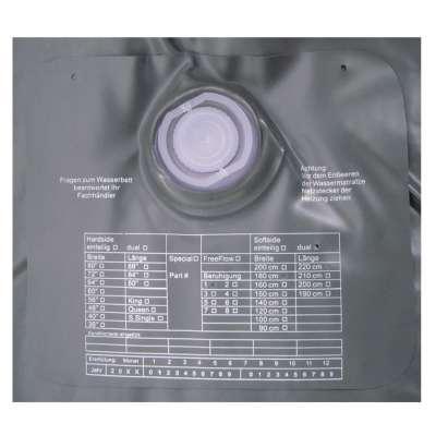 ABBCO Kuss Wassermatratze - Wasserkern Mesamoll II Uno Softside F2