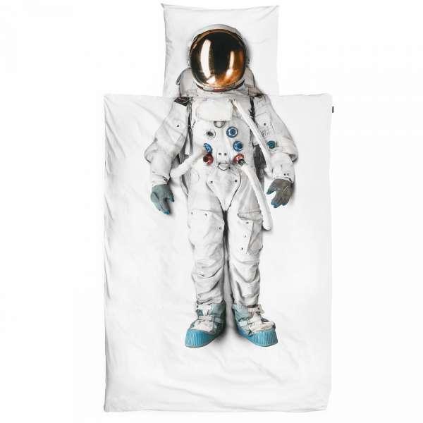 Snurk Bettwäsche Astronaut Größe 135x200/80x80 cm