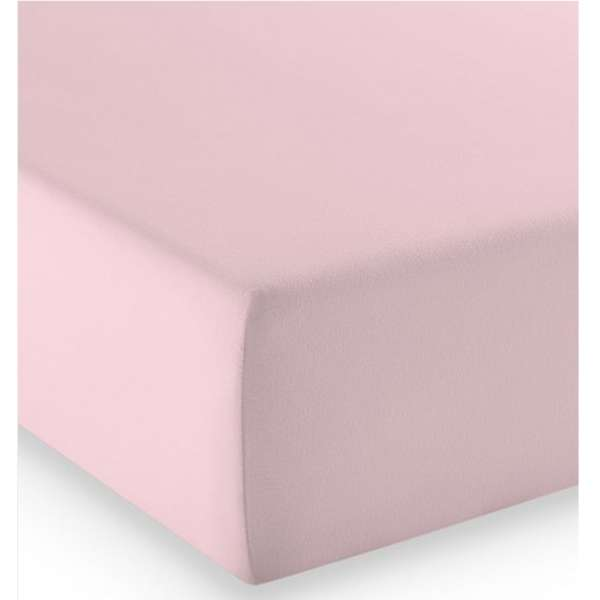Fleuresse Mako-Jersey-Spannlaken comfort Farbe rose 4040