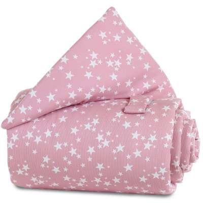Tobi Babybay babybay Gitterschutz für Verschlussgitter alle Modelle, beere Sterne weiß