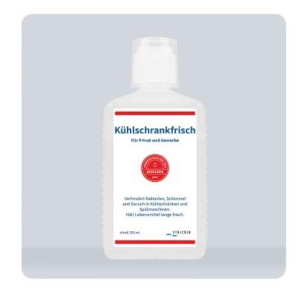 Stricker Kühlschrankfrisch 200 ml Flasche, Bakterienbeseitiger