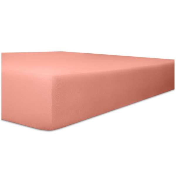 Kneer Vario-Stretch Spannbetttuch für Matratzen bis 30 cm Höhe Qualität 22 Farbe altrosa