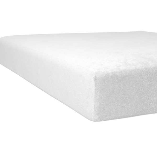Kneer Flausch-Biber Spannbetttuch Qualität 80 natur 100x200 cm