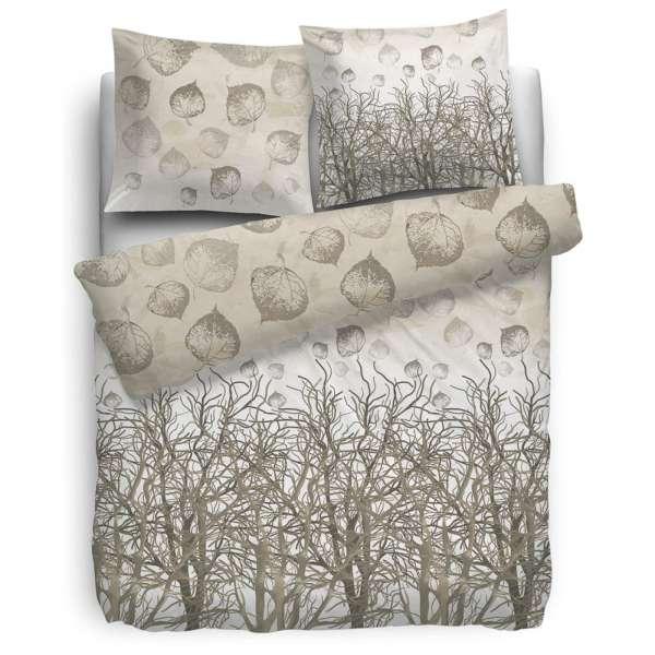 HnL Pure-Cotton-Bettwäsche Fig 135x200 cm naturel