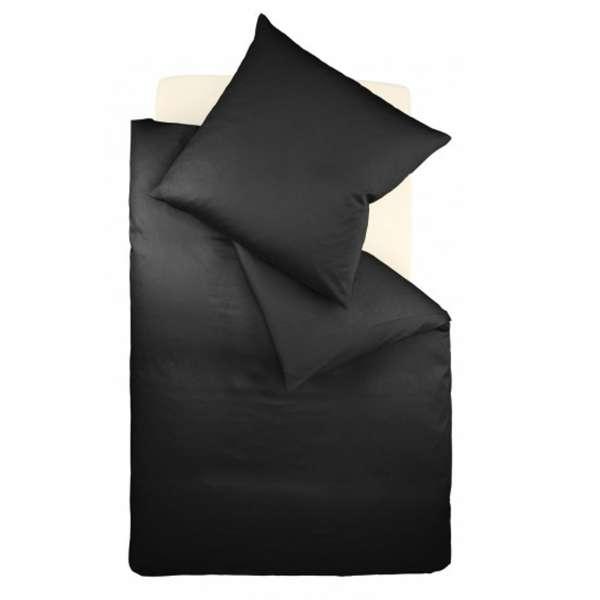 Fleuresse Interlock-Jersey-Bettwäsche colours schwarz 941